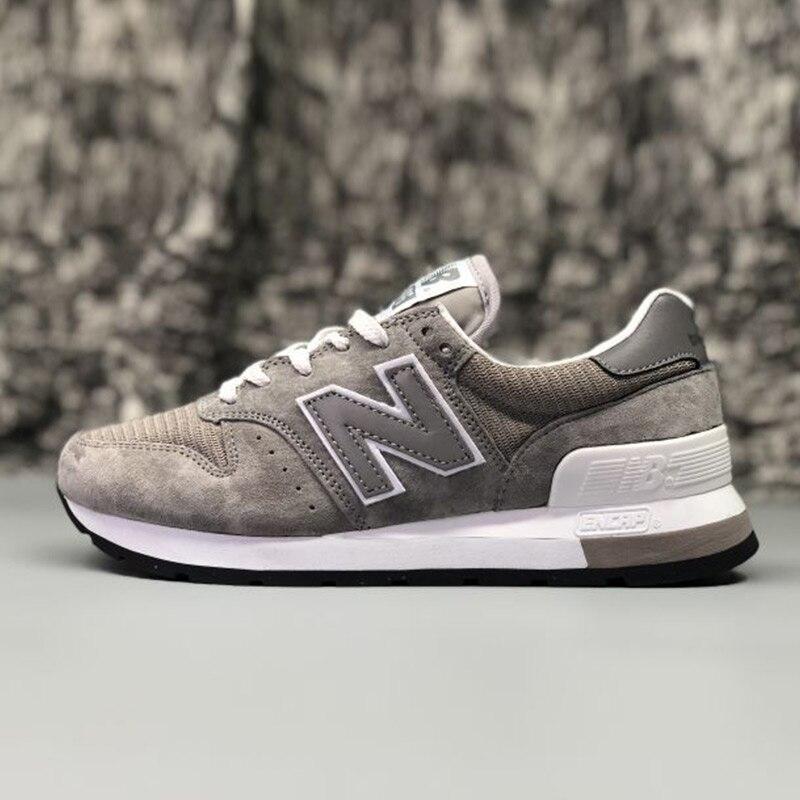 NEW BALANCE NB995 hommes bleu Badminton chaussures gris à lacets en plein air Sneaker anti-dérapant printemps chaussures pour dame