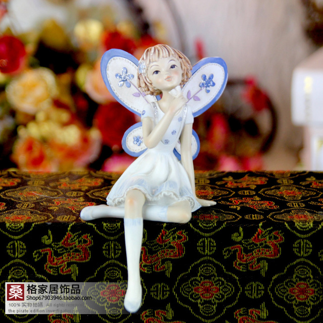 Resin crafts wedding gifts home accessories fairy decoration