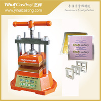 Digital Display valcanizer, with 2kg silicone rubber and mould frames for making rubber mold