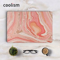 Red Marble Grain Full Cover Skin For MacBook Sticker Air Pro Retina 11 12 13 15