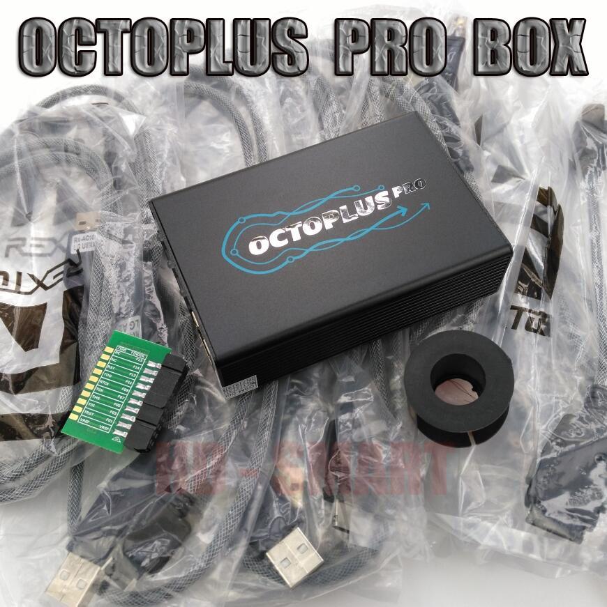 Original Octoplus pro Boîte avec 7 dans 1 Câble/Adaptateur Ensemble travail pour Samsung et POUR LG + Medua JTAG Activation mobile téléphone adaptateurs