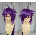 Anime The Labyrinth of Magi Sinbad Need Styled Full Lace Cosplay Wig Costume Heat Resistant + Cap