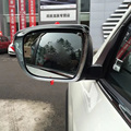 For Nissan Murano 2015 2016 Chrome ABS Side Door Rearview Wind Mirror Rain Snow Guard Visor Cover Shields Car Covers 2pcs/set