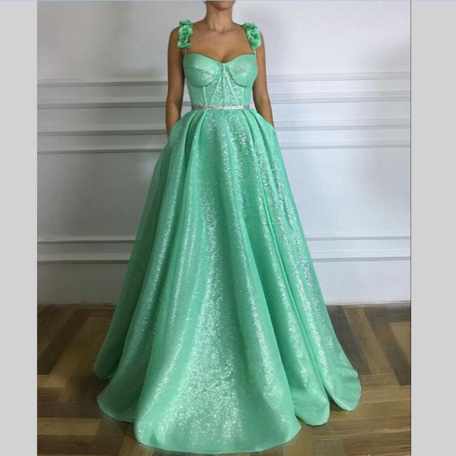 7a7da5f3e5 Brillo largo vestidos noche vestido De Prom turco flores nuevas mujeres  vestido Formal para el baile De graduación vestidos De fiesta boda vestido  De fiesta ...