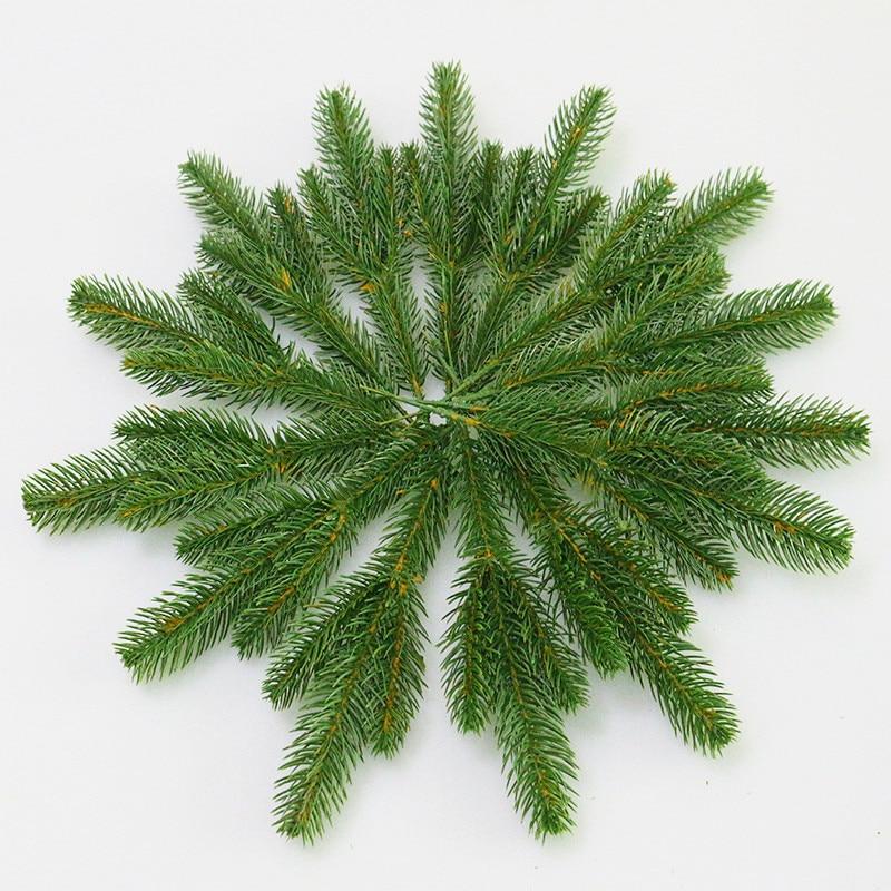 Christmas Tree Needles: Flone Artificial Pine Needles Simulation Plant Flower