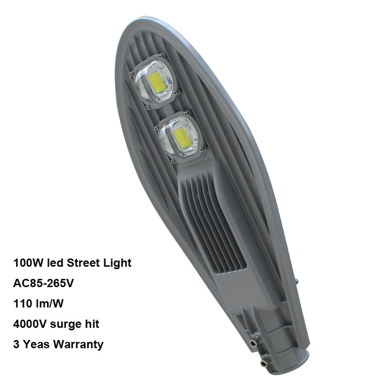 LED street light 100w AC 85-265V 130-140 lm per watt 100w driver for high power led 100 watt led light lamp ac 85v 265v