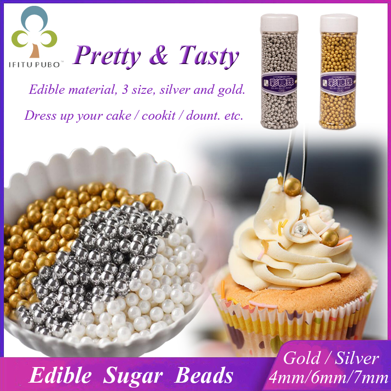 Silver Pearls For Cake Decorating  from ae01.alicdn.com