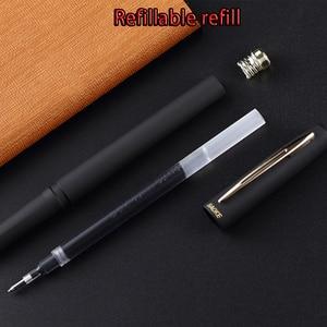 Image 5 - Original Baoke Gel Ink pen 0.5mm/0.7mm/1.0mm 12pcs Frosted Large Capacity School&Office Neutral Pen