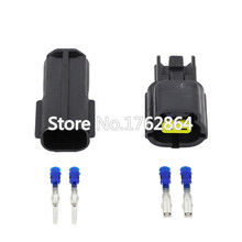 цена на 5 Sets/Kit 2 Pin/Way DJ70216Y-1.8-11/21 Waterproof Electrical Wire Connector oxygen sensor connector plug Automobile Connector