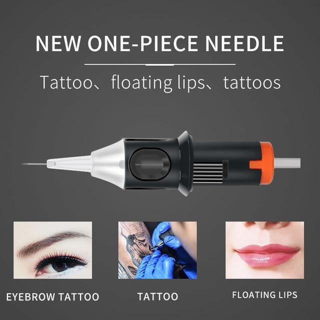 Tattoo Cartridge Needle 10PCS RL/M1/RM Professional Disposable Semi-Permanent Eyebrow Lip Makeup Needles For Tattoo Machine Pen 2