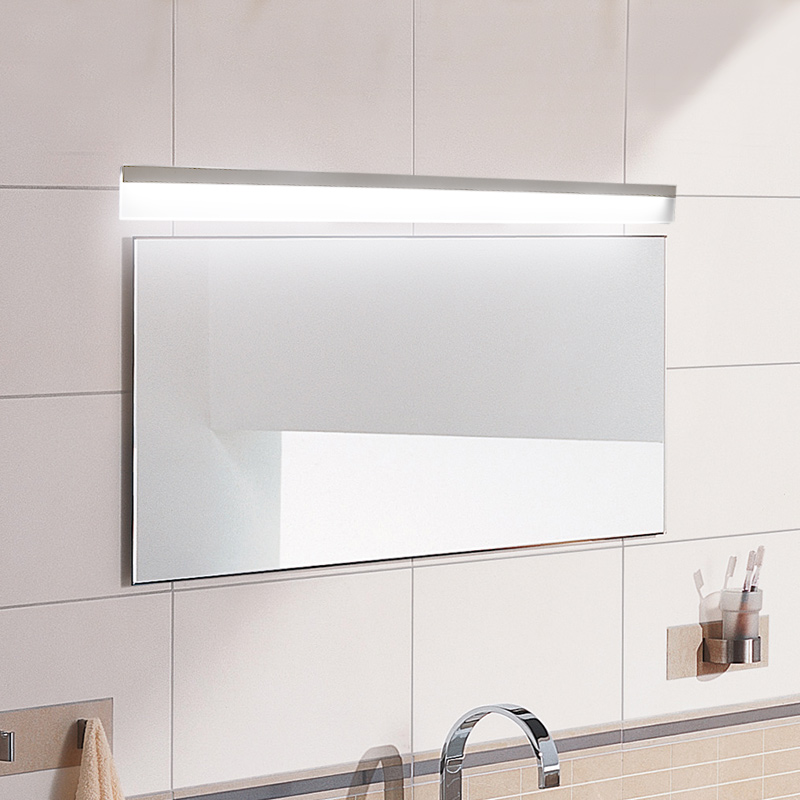 Modern led mirror light waterproof wall lamp fixture AC85-220V Acrylic wall mounted bathroom lighting decoration Sconce modern led mirror light 12w 18w waterproof wall lamp fixture 90 260v aluminum wall mounted bathroom lighting sconce wml005
