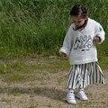 2016 ОСЕНЬ ЗИМА НОВОЕ ПРИБЫТИЕ ДЕТСКИЕ ДЕВУШКИ ОДЕЖДА ДЛЯ ДЕТЕЙ МУЛЬТФИЛЬМ бобо выбирает СВИТЕРА VETEMENT ENFANT ДЕТСКАЯ ЗИМНЯЯ Одежда