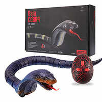 Realistic Remote Control Naja Cobra RC Animals Snake Toy for Children High Simulation Cobra Interesting Egg Radio Control Toy