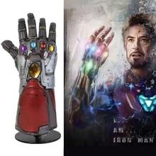 Мстители 4 эндигра Marvel супергерой Халк Косплей рука танос латексные перчатки Железный человек Бесконечность гаунтлет дети взрослый Косплей Опора