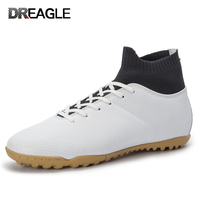 DR.EAGLE Adult High with Ankle Men's Superfly Crampon Original Turf Indoor Futzalki Soccer Football Boots Man Kids Shoes