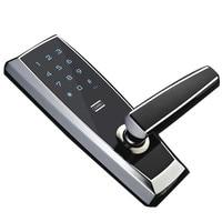 Deadbolt Electronic Built in Alarm Fingerprint & Digital & Smart Door Lock for Homes & Office
