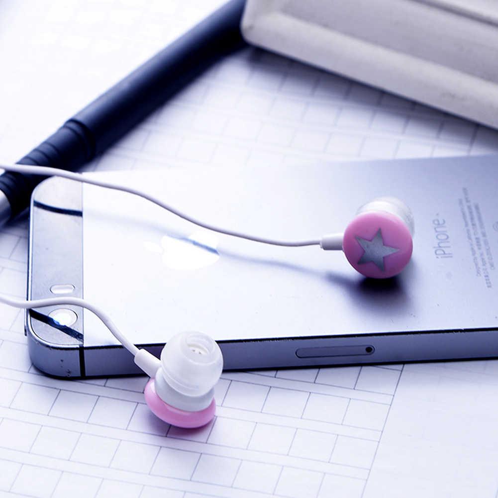 3.5 مللي متر Earpods جميل ستار سماعة ياربود ل PC MP3 MP4 ل فون بود ل LG الأسود سماعات EH1024 69% قبالة