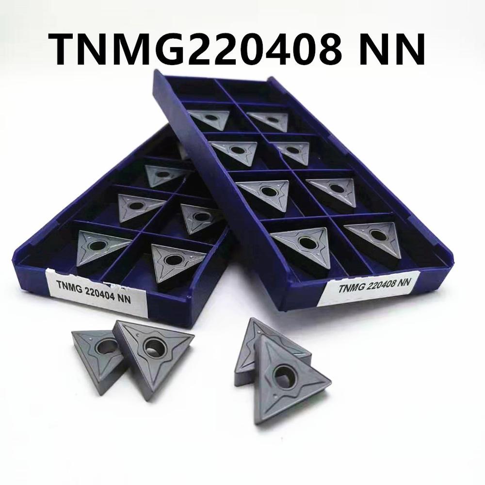 Tungsten Carbide TNMG220404 / 08 NN LT10 External Turning Tool TNMG 220408 PVD Carbide Insert CNC Lathe Tool Milling Tool
