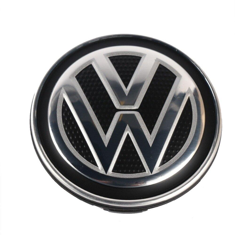 New OEM 56mm Center De Roue Hub Caps Logo Badge Emblèmes Pour VW Volkswagen Nouvelle Polo Jetta MK6 Bora 6CD 601 171 XQI