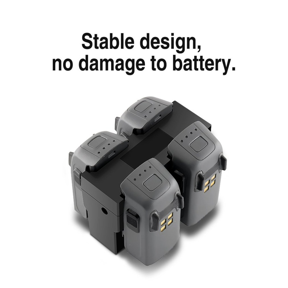 US Plug Charger For DJI Spark Drone Fast Charging Hub ...