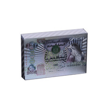 United Arab Emirates 999.9 Silver Banknote Silver Playing Card Birthday Gifts Personalized Gift academics knowledge sharing behaviour in united arab emirates