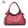 LINLANYA новых женщин сумки леди элегантные сумки роскошный кожаный pu сумки выдалбливают сумка красная сумка дамы тотализатор Z-110