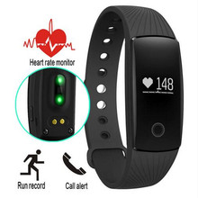 Hot Sale ID107 Bluetooth Heart Rate Monitor Smartband Smart Sport Watch Wristband Silicone Heart Rate Bracelet With Tracker