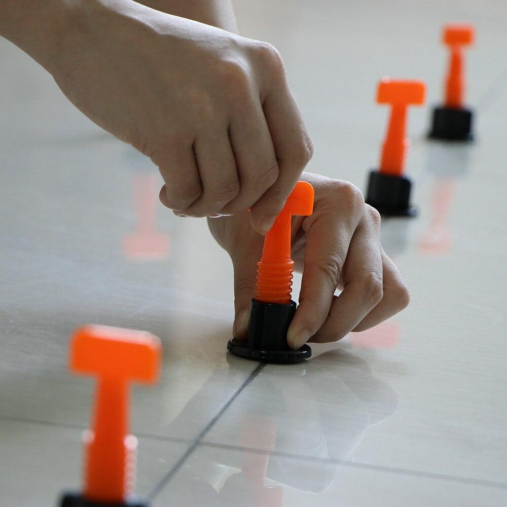 50pcs set reusable tile leveling system adjustable locator plier level wedges anti lippage tile leveling alignment wedges spacer
