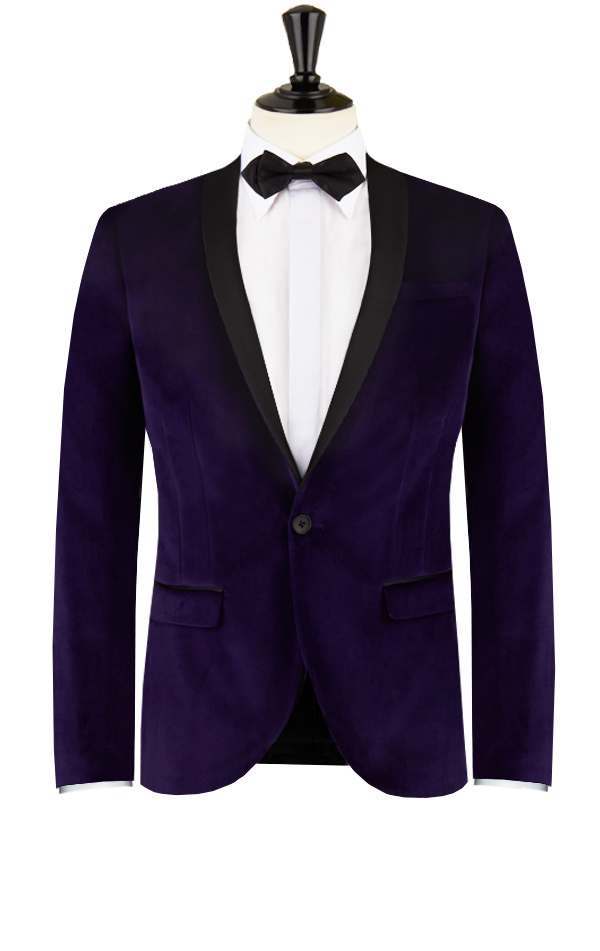 Dark Purple Prom Suits | My Dress Tip