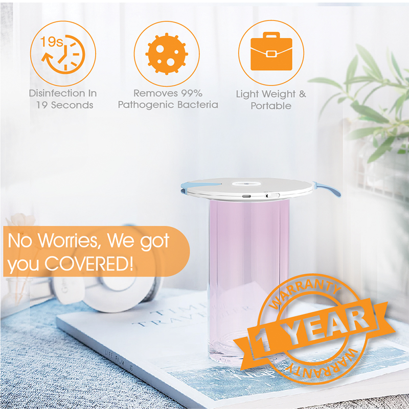 59S Multifunctional UV LED Sterilizer S8 Portable Sterilizing Cover For Baby Tableware Milk Bottle Coffee Mugs Disinfection