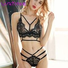 VATINE Erotic Lingerie Transparent Women Underwea Lace Sexy