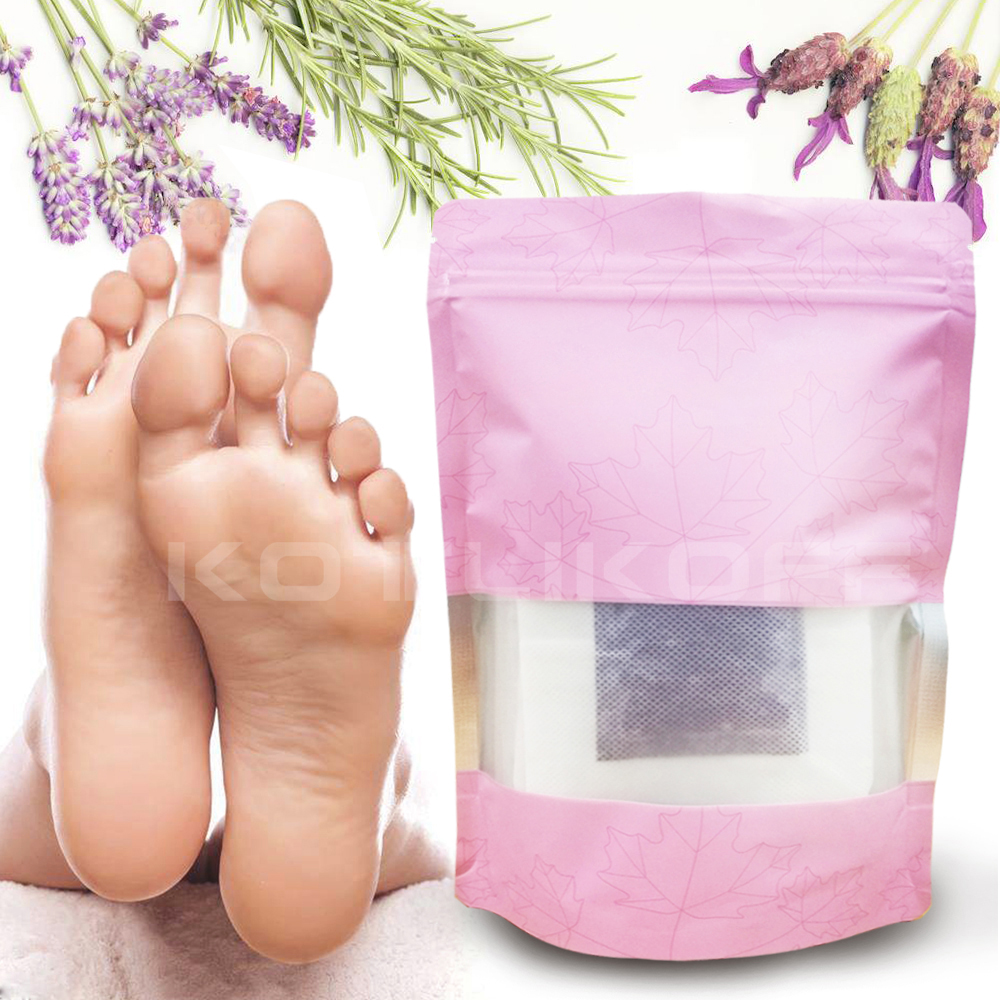 Shoe Cushion Lavender Detox Foot Patches Pads Body Toxins Feet Slimming Cleansing Improve Sleeping Insoles Adhesive