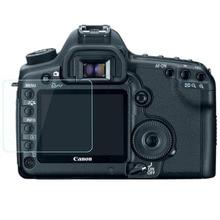 واقٍ زجاجي مقسى لكانون EOS 5D II Mark2 Markii 5D2 5DII 50D 40D 1DS Mark III 1DS3 غطاء شاشة كاميرا طبقة رقيقة واقية