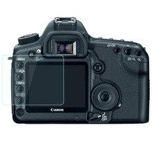 Protetor de vidro temperado para canon eos 5d ii mark2 markii 5d2 5dii 50d 40d 1ds mark iii 1ds3 capa de película protetora da tela da câmera