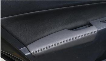 levin, dual-engine door handrails leather handrails, interior modification,Only for Toyota 14-17 models Corolla,
