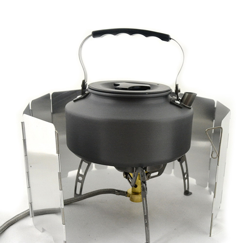 Foldable Gas Stove Windshield 4