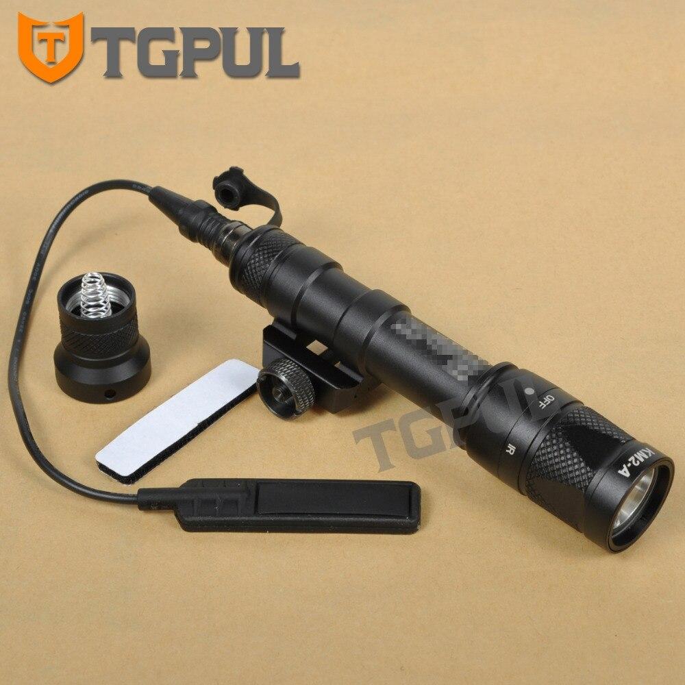 TGPUL M600V Scout Lumière Constante/Momentané/Stroboscopique Blanc Fusil Lumière Torche lampe de Poche avec Picatinny Rail Mount