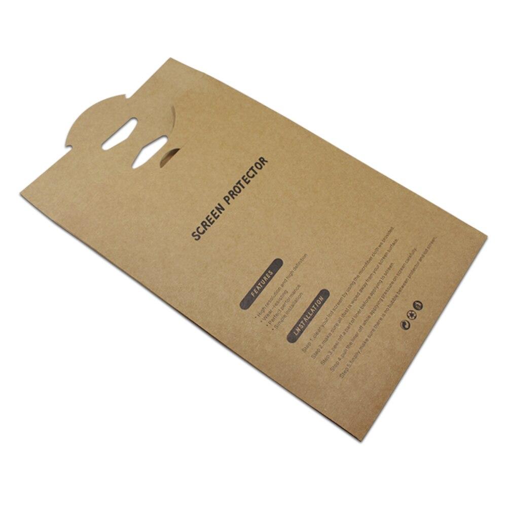 Tablette PC Films de protection emballage boîte de papier en gros protecteur d'écran Film emballage poche sac pour iPad Mini Pro Air 2/3/4 - 4