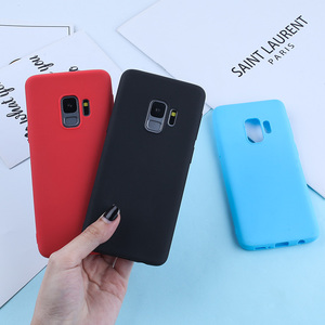 Image 4 - Luxury Case For Samsung Galaxy S9 Cases Candy Color TPU Cover For Samsung Galaxy S8 S9 A5 A3 2017 A8 S10 S10e Plus A7 2018 Plus