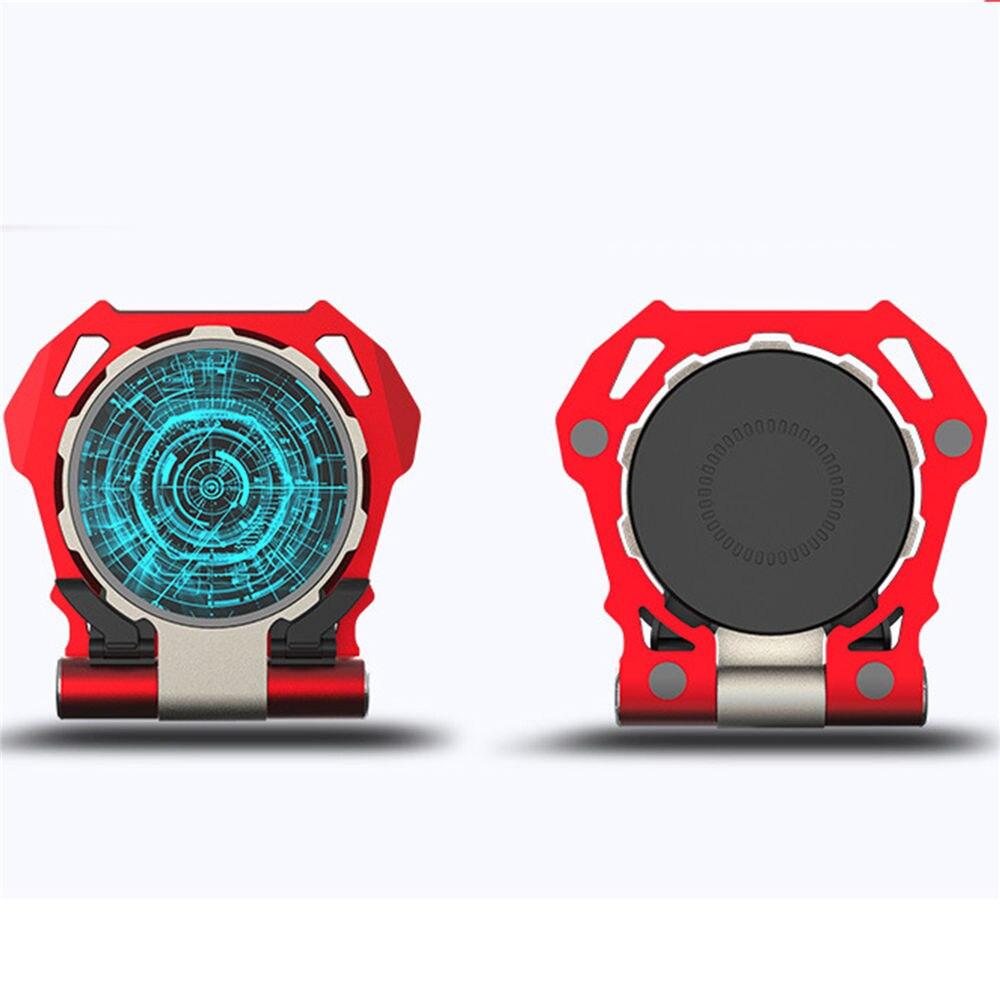 Chargeur sans fil de rangée magique rougeoyante 10 W Qi chargeur rapide universel sans fil support de chargeur pour iPhone X Samsung téléphone mobile
