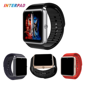 2017 Android Smart Watch GT08 With Camera Bluetooth 4.0 Wristwatch Support Sim TF Card Smartwatch GT08 A1 DZ09 Wholesale
