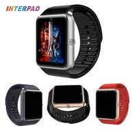 2017 Android Thông Minh Watch GT08 Với Máy Ảnh Bluetooth 4.0 Đồng Hồ Đeo Tay Hỗ Trợ Sim TF Card Smartwatch GT08 A1 DZ09 Bán Buôn