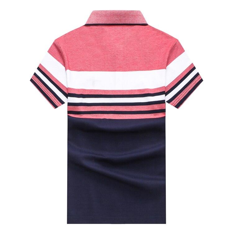 Shark 2018 Shipp shirt Couleur Tissu Courtes Haute pink grass Rayé Broderie Confort T Élégant 3xl Green Manches Nouveau Blue Style Tace Livraison amp; Sky M Hommes RqX55Z