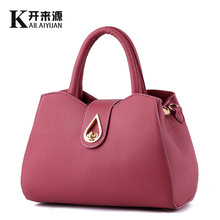 2016 New PU Leather Women Tote Bag Fashion Women Handbags Elegant Crossbody Shoulder Bags For Women's Purse Bolsa Feminina