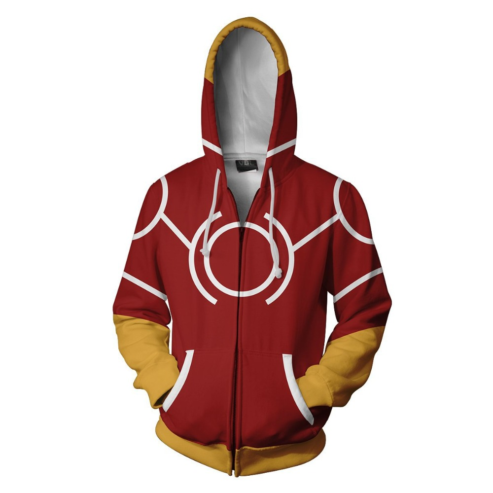 Yagi jung Canon Sweatshirt Xemnas Cosplay Anime 3D Printed Sweatshirt men zipper Cartoon hooded  Jackets