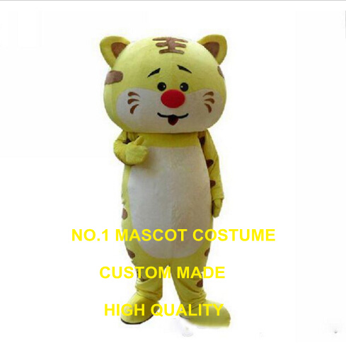 brown tiger mascot costume custom cartoon character cosplay carnival costume <font><b>3386</b></font> image