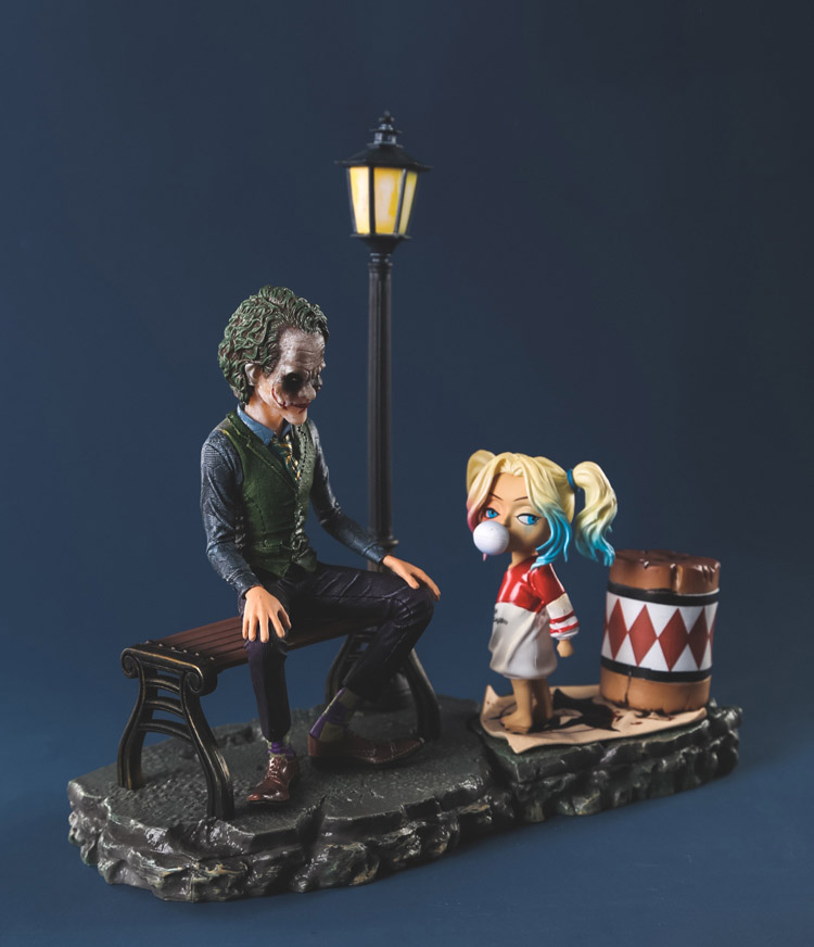 The Joker Harleen Quinzel Harley Quinn DC Comic Super Hero Film Statue Batman Suicide Squad villain Cute Figure Figurine Toys 2pc 50cm led bar light 42leds 2835 smd ultra thin lamp indoor light seamless connecting rigid led strip kitchen bookcase cabinet