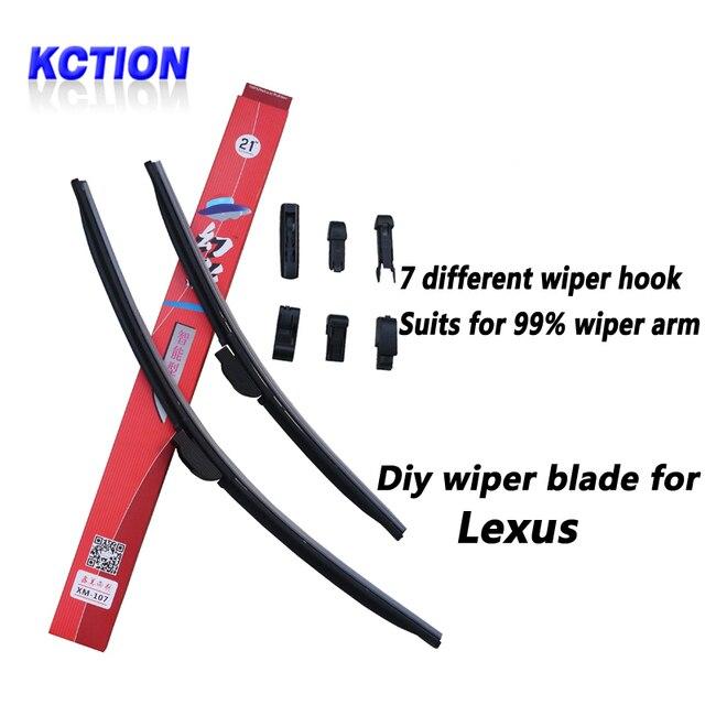 Car Windshield Wiper Blade For Lexus IS F,IS250,IS300,IS350,CT200h,GS300,GS450H,ES350,LX570,RX300,RX350,RX400H,RX450H,brush