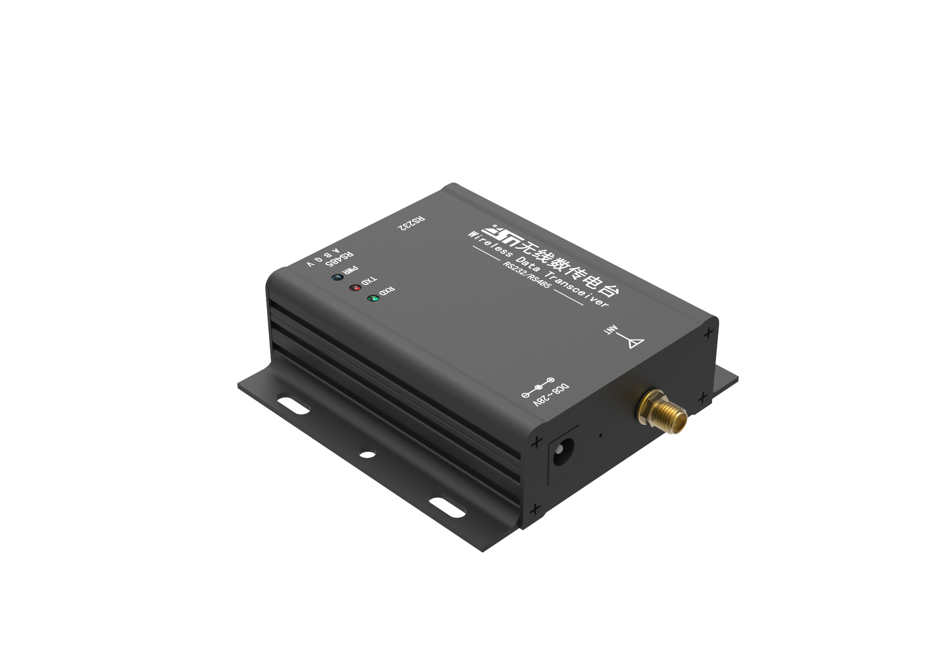 Rs232 Rs485 Modbus 433mhz 4.5km Wireless Gfsk Data Transceiver