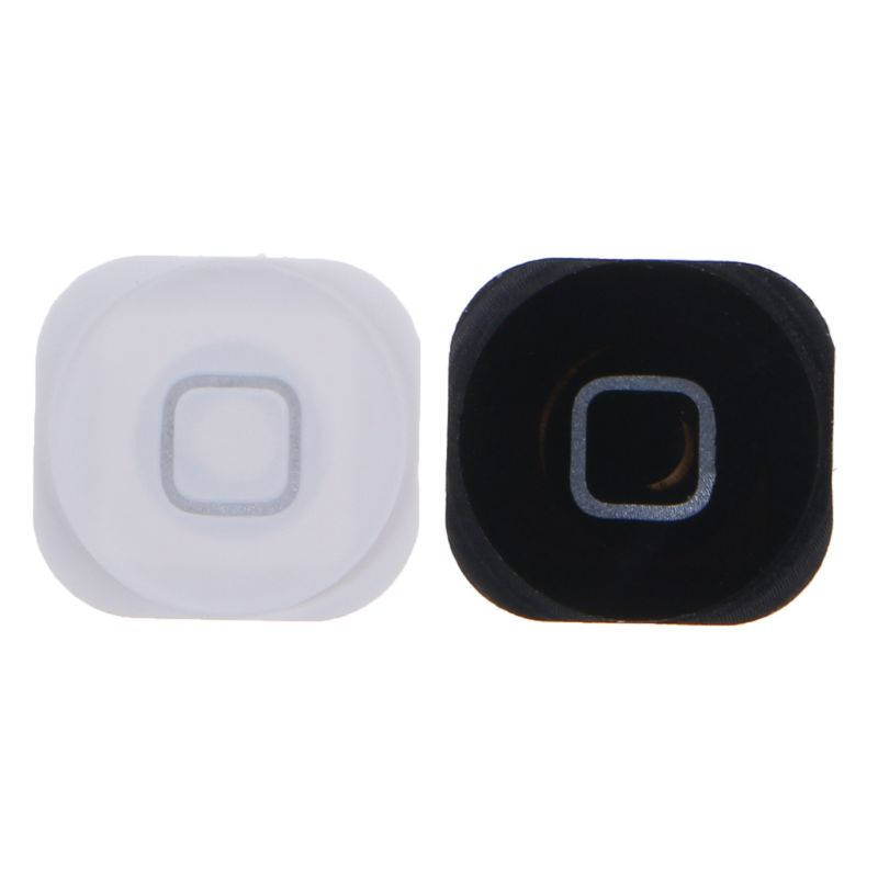 Home Menu Button Replacement Return Key Cap Rubber Gasket Holder Repair Part for Apple iPod Touch 5